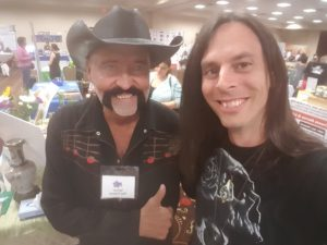 Don Tolman and I at Health Healing and Happiness 2016 Las Vegas, NV.